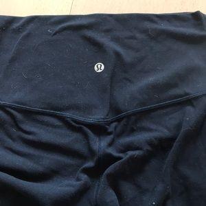 lululemon athletica Pants - Navy blue align Lulu Lemon size 4 7/8